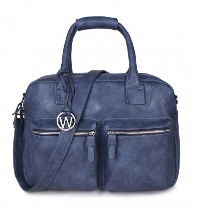 Donkerblauw Alfa WIMONA serie Trading bags ALESSIA 1107 wIXAqO