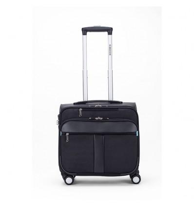 RK-2088 B-CORSO business trolley 40X43.50X25CM TSA slot kleur zwart/cobaltblauw