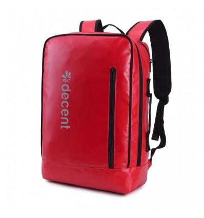 Decent Backside 6001 Laptop Rugzak Rood