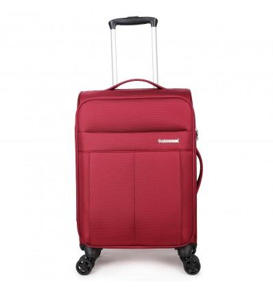 Decent D-Upright Handbagage Koffer 55cm Rood