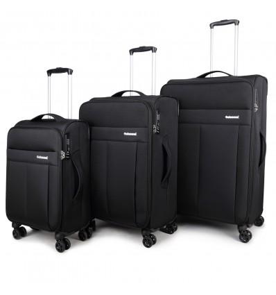 Decent D-Upright Kofferset Zwart
